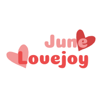 June Lovejoy Official Website ロゴ